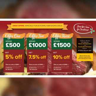Festive Offers - Stock up and Save for Christmas!