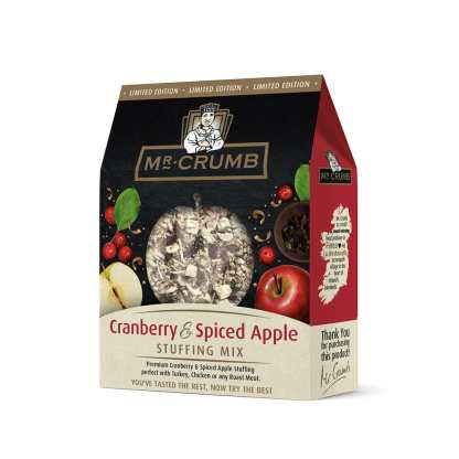 Mr Crumb Cranberry & Spiced Apple Stuffing Mix