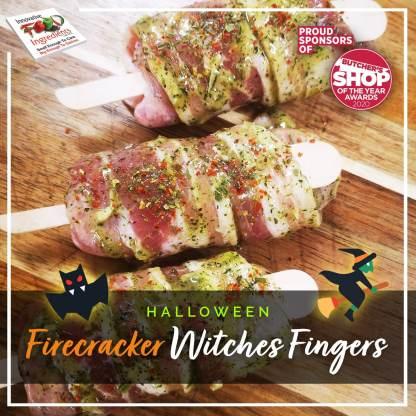 Hallowe'en Firecracker Witches Fingers