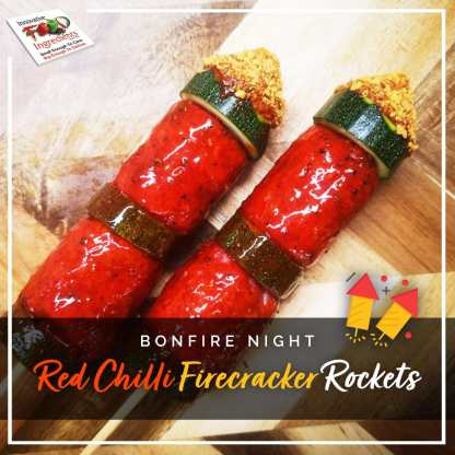 Bonfire Night Red Chilli Firecracker Rockets
