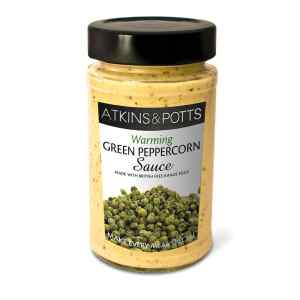 Atkins & Potts Green Peppercorn Sauce