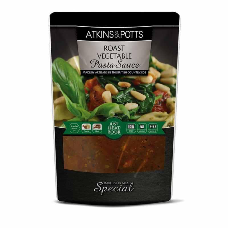 Atkins & Potts Roast Vegetable Pasta Sauce