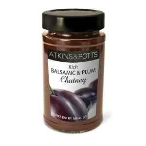 Atkins & Potts Balsamic and Plum Chutney