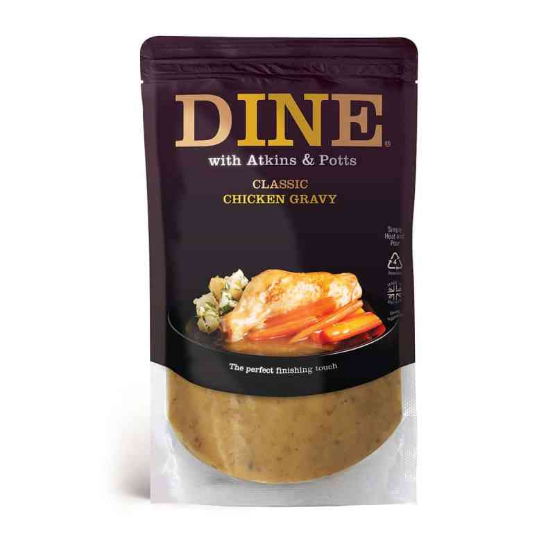 DINE IN with Atkins & Potts Classic Chicken Gravy