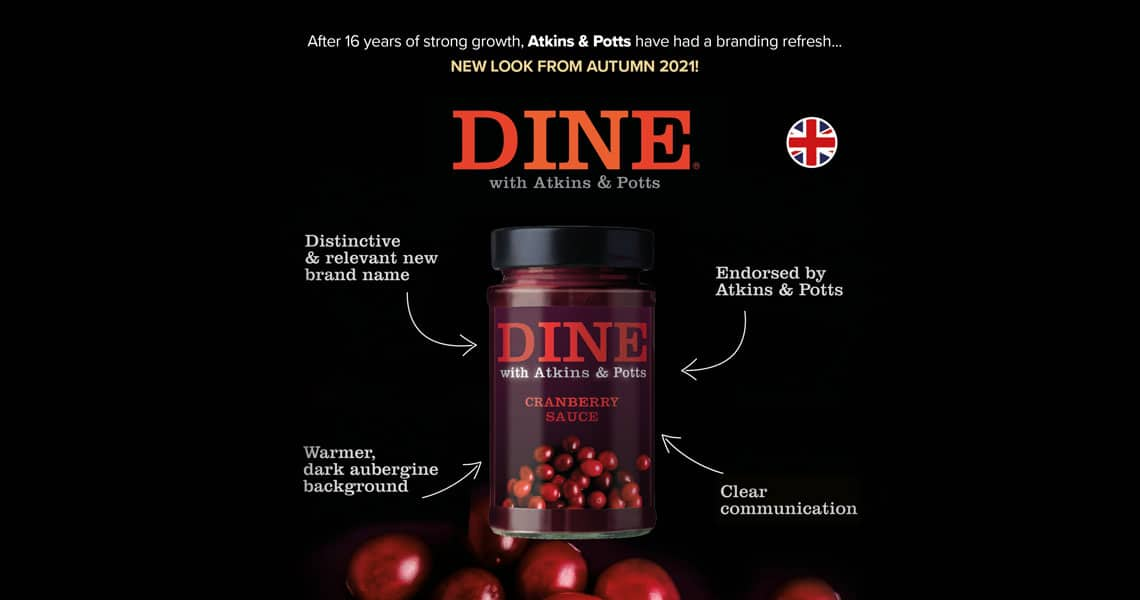 DINE IN with Atkins & Potts