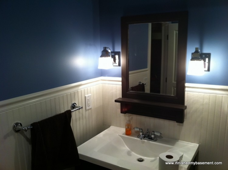 basement bathroom design ideas & 3 things i wish i'd done differently.