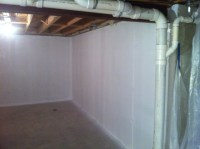 Basement waterproofing paint, does it stop leaks on ...