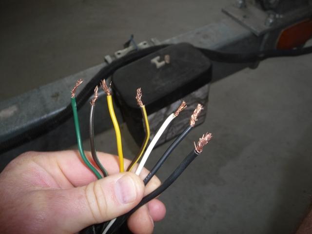 boat trailer wiring diagram 5 pin kenworth w900 headlight 7 i have no clue www ifish net
