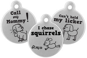 custom pet tags dog
