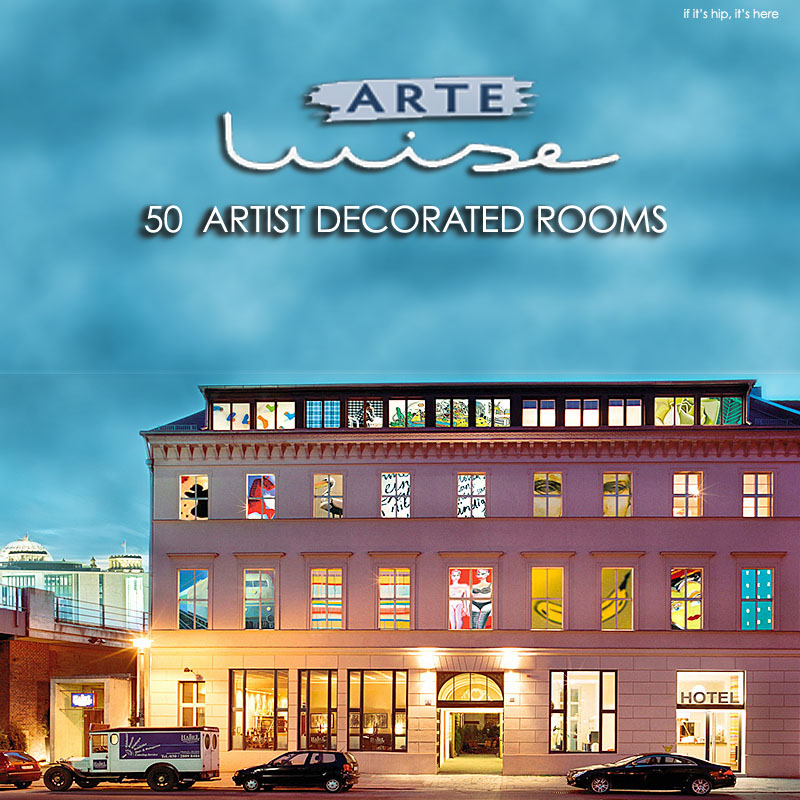 Where To Stay In Berlin How About An Art Gallery That Sleeps - Arte-luise-kunsthotel