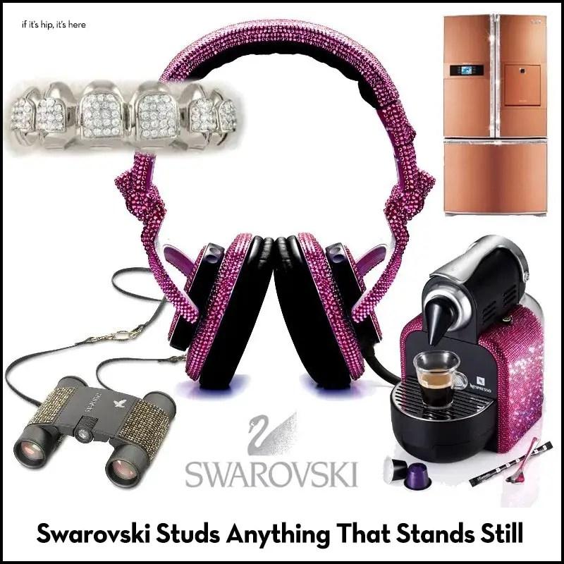 swarovski studs anything that stands still