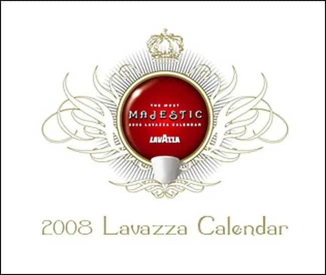2008 lavazza calendar