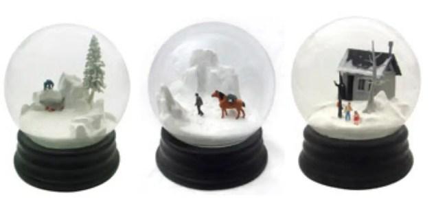 martin and munoz travelers snowglobes