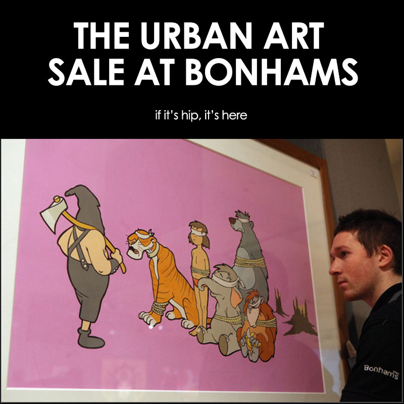 Urban Art Sale at Bonhams