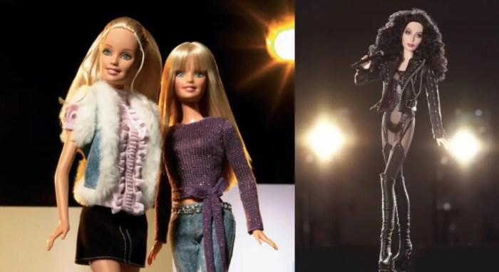 Mattel's Barbie and Hilary Duff doll