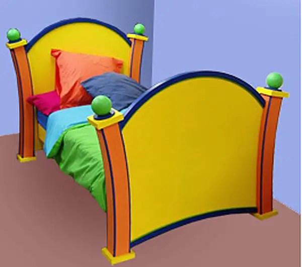 Cartoon Furniture Dr. Seuss Bed