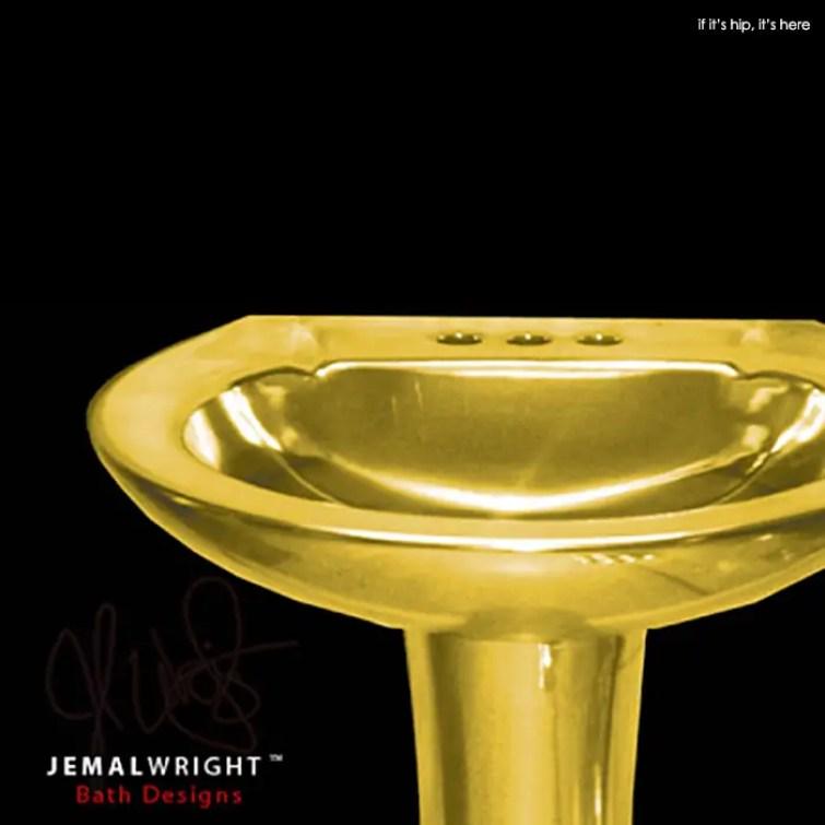 Jemal Wright Chromed Bathroom Furniture