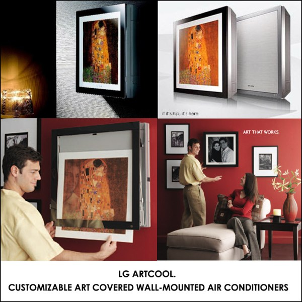 LG Art Cool the Air Conditioner Picture Frame