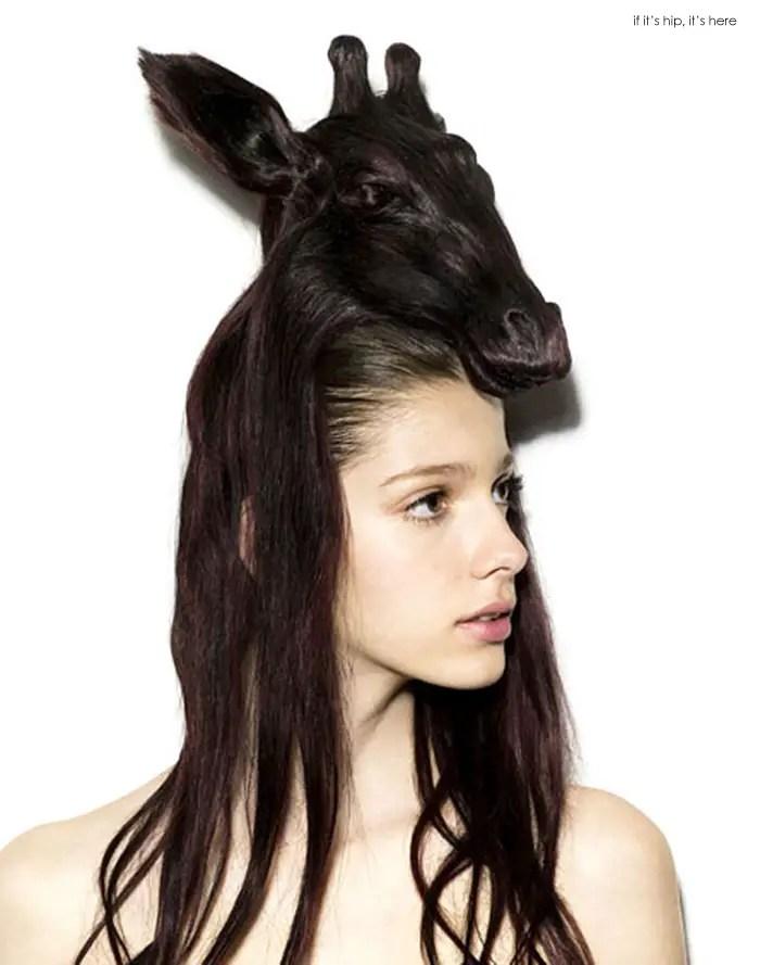 animal wig giraffe IIHIH 13