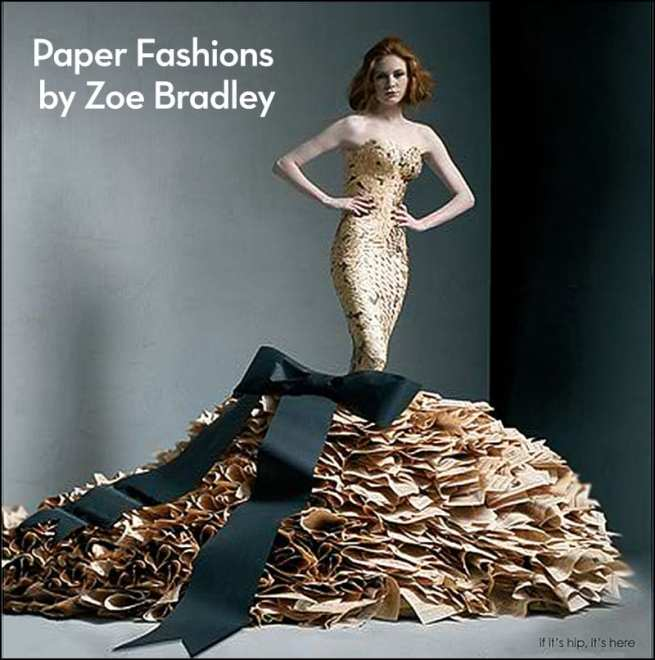 paper fashions by Zoe bradley