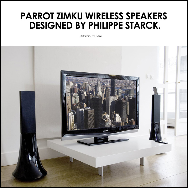 parrot zimku speakers