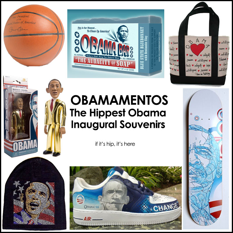 Obama Inaugural Souvenirs