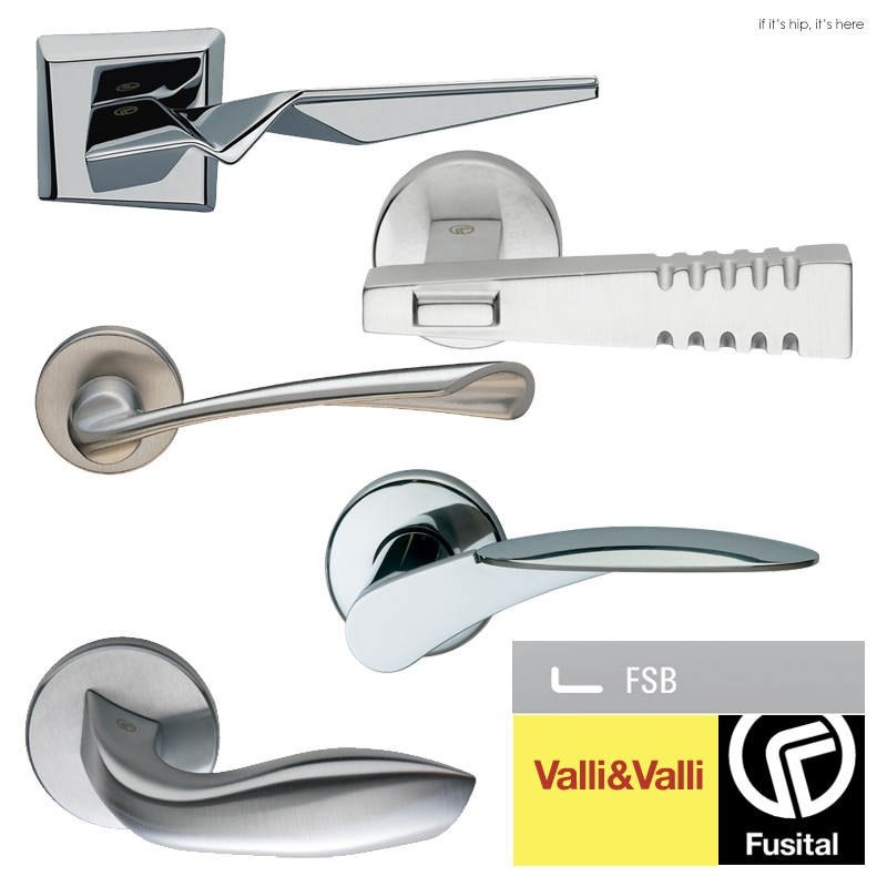 Door Handles By Famous Architects and Designers
