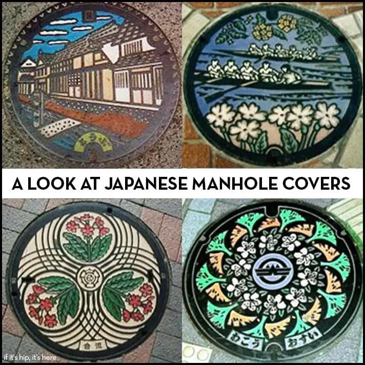 japanese manhole covers IIHIH