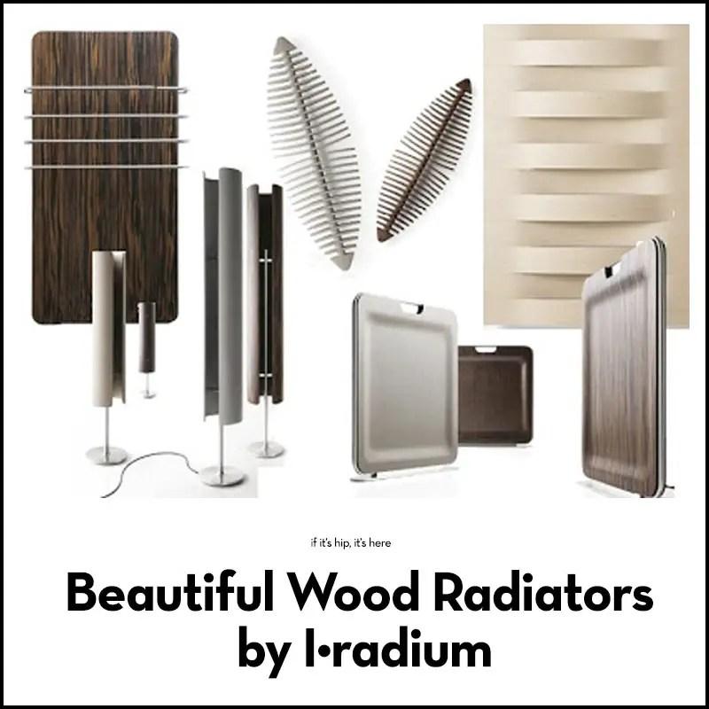 wood radiators by i-radium