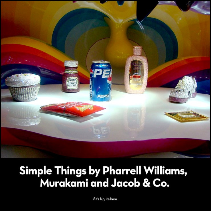 Simple Things by Pharrell Williams, Murakami and Jacob & Co