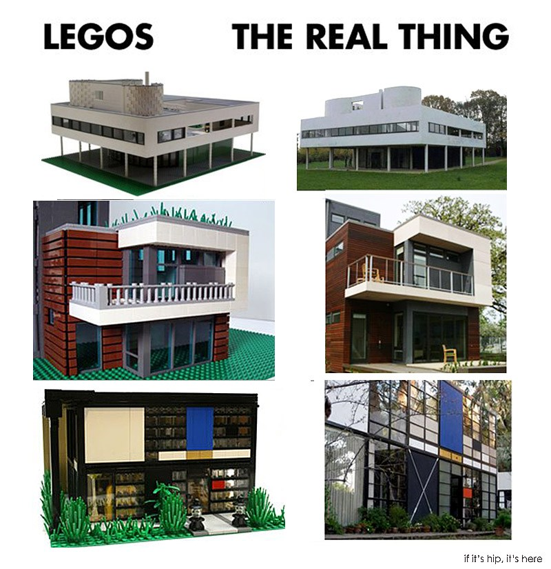 lego replicas of famous homes