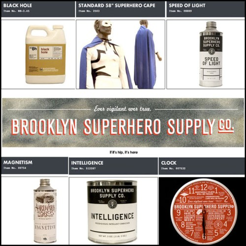 Read more about the article The Brooklyn Superhero Supply Company