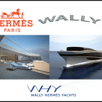 Hermès Collaborates With Wally: A Bugatti, A Helicopter, Now A Superyacht.