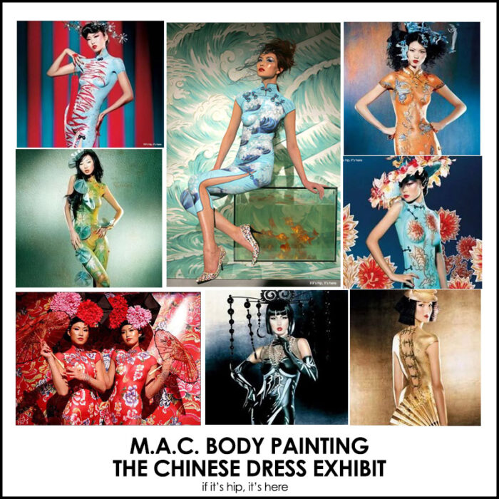 Read more about the article More Stunning Body Painting: The M.A.C. Chinese Dress Exhibit