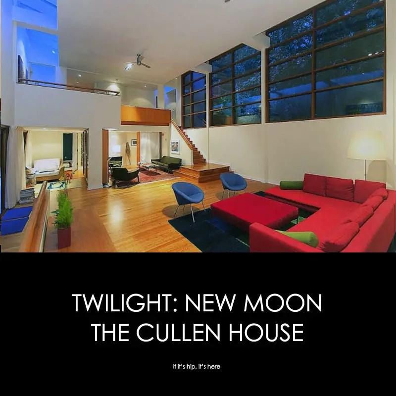 Twilight new moon cullen house