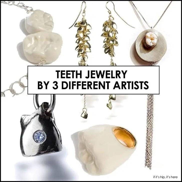Human Teeth in Jewelry