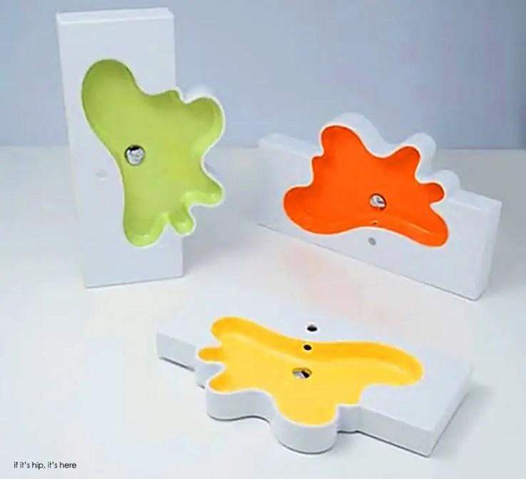 disegno ceramica splash collection