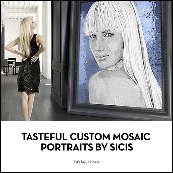 sicis custom mosaic portraits