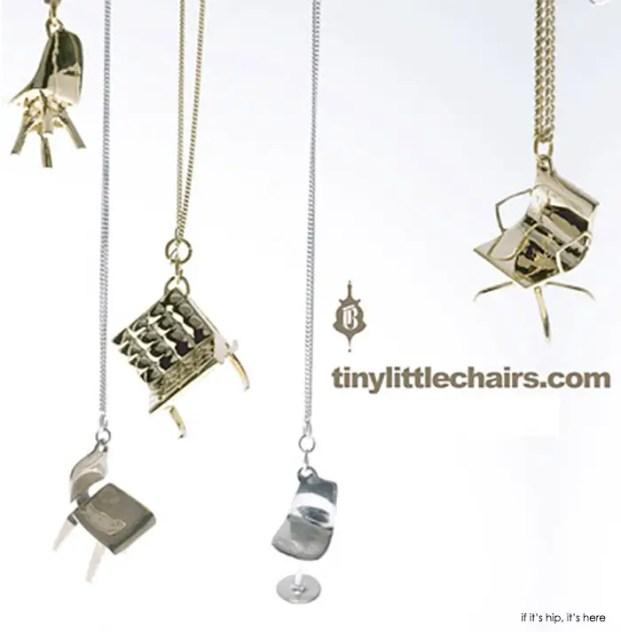 tiny little chairs pendants