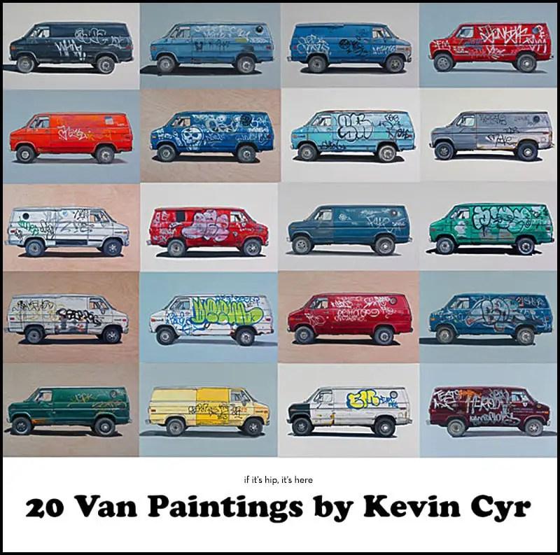 van paintings by Kevin Cyr
