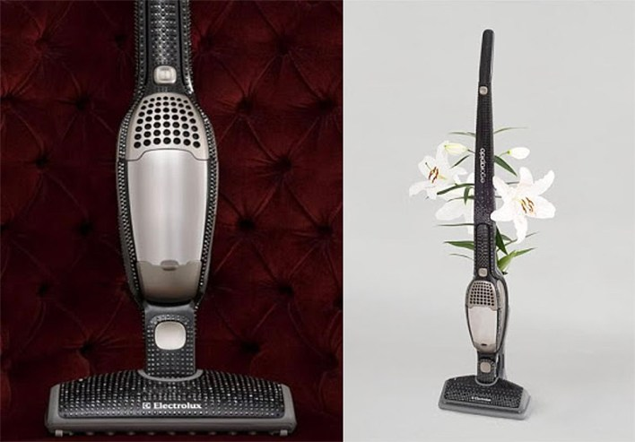 swarovski crystallized electrolux vaccuum if its hip its here
