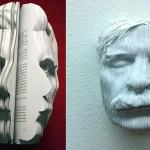 Nicholas Galanin Paper Sculptures Inspire Dutch Book Week Ad Campaign Posters.