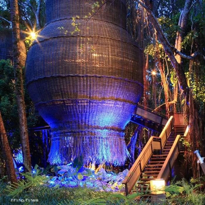 Indigo Pearl Coqoon Treetop Spa