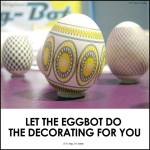 Eggs + Sharpies And The Egg-Bot Will Do The Decorating Work For You.