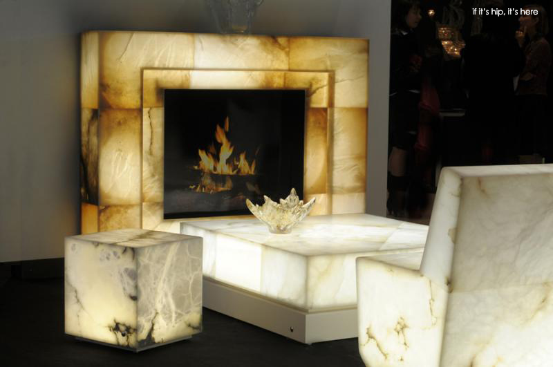 Indoor And Outdoor Alabaster Furnishings That Glow From