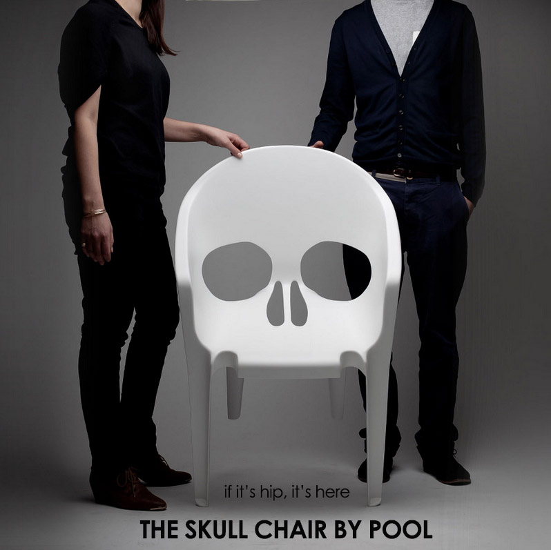 skull chair directors camping the by pool cool seating