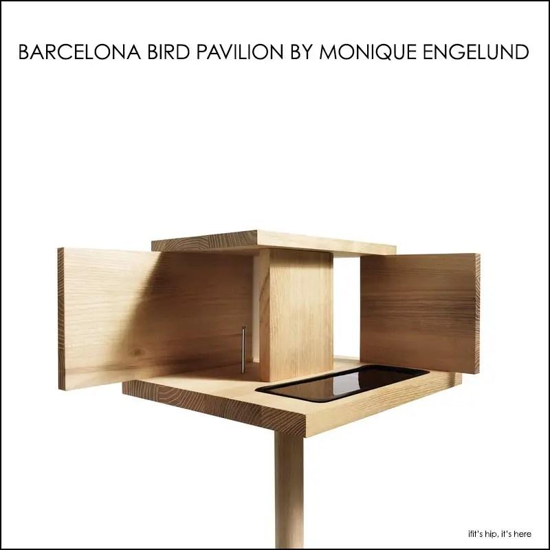 Barcelona Bird Pavilion by Monique Engelund