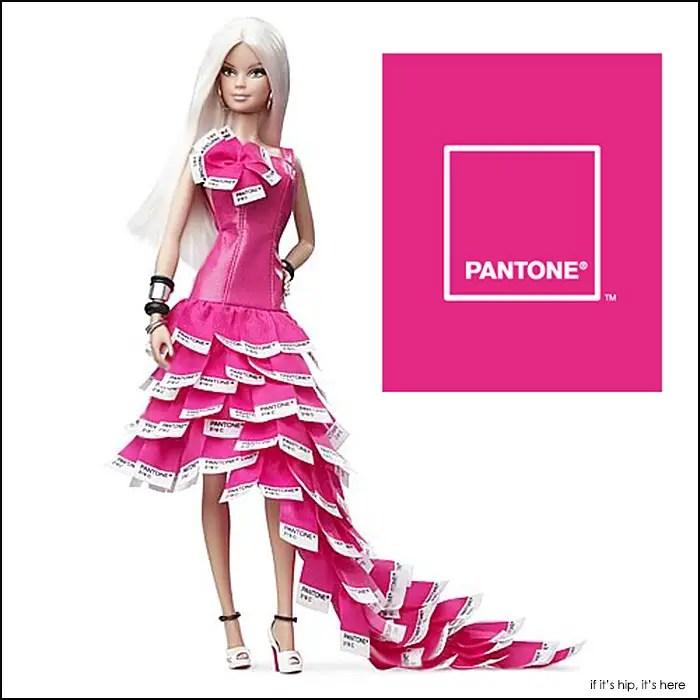 pink in pantone barbie