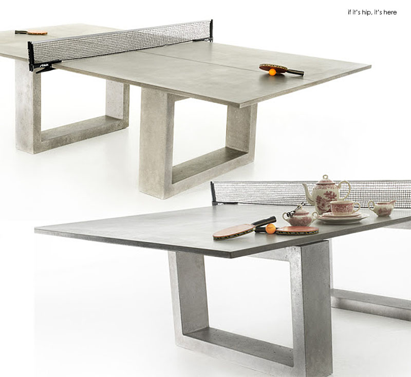 concrete ping pong table. Concrete \u0026 Steel Ping Pong Table