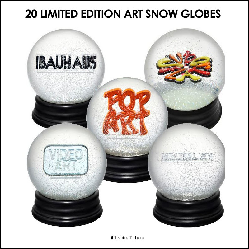 Limited Edition Art Snow Globes